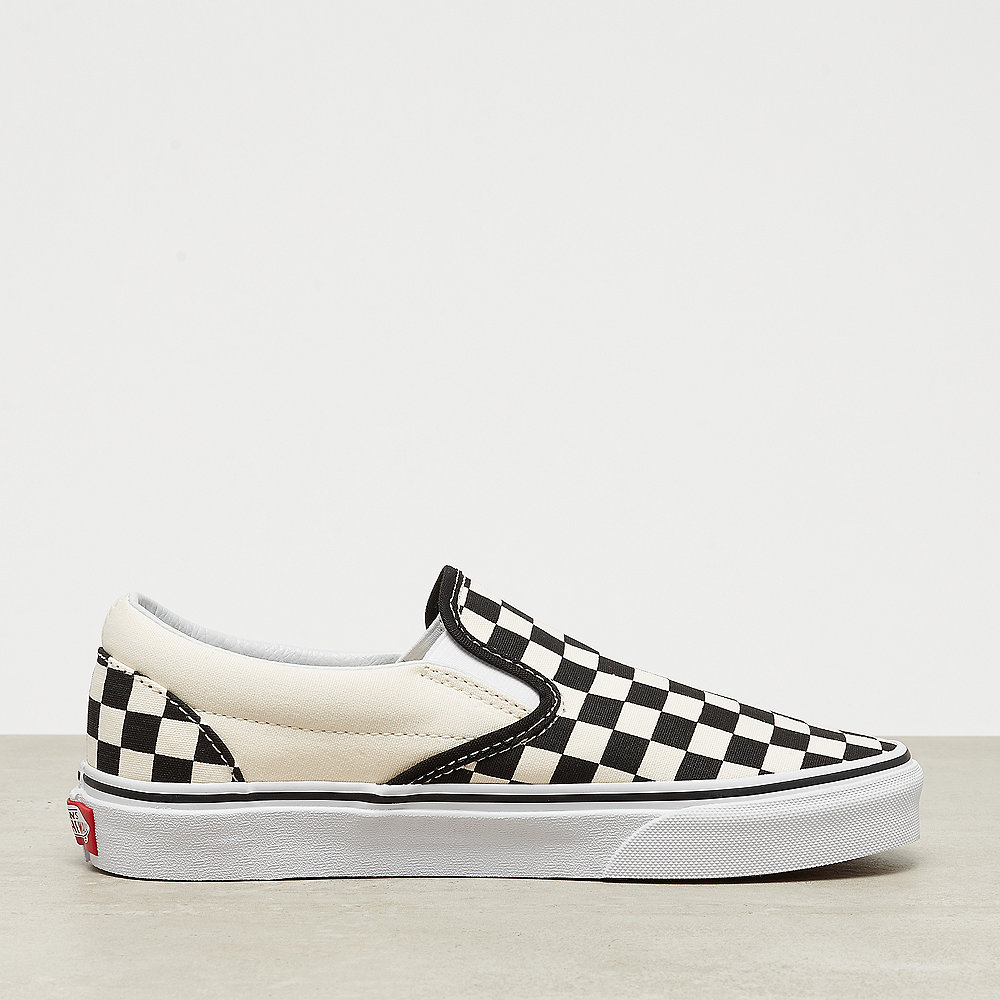 UA Classic Slip on ckeckerboard black white