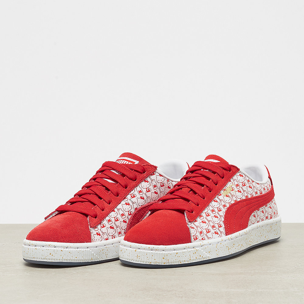 Suede Classic x Hello Kitty bright red bright red