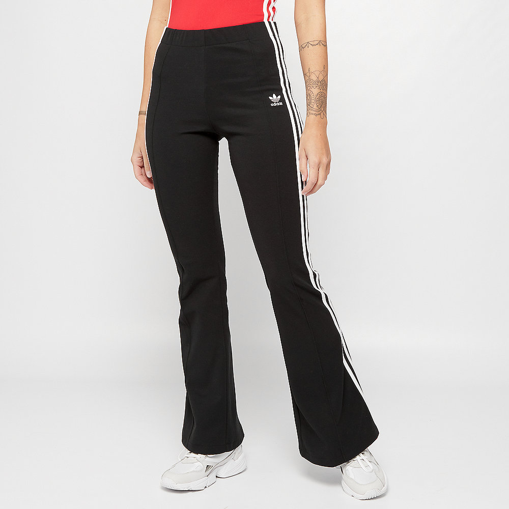 adidas Flared Trousers black