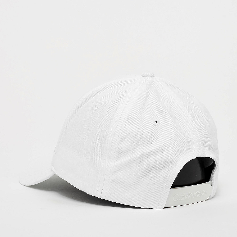 Calvin Klein Side Logo Cap bright white