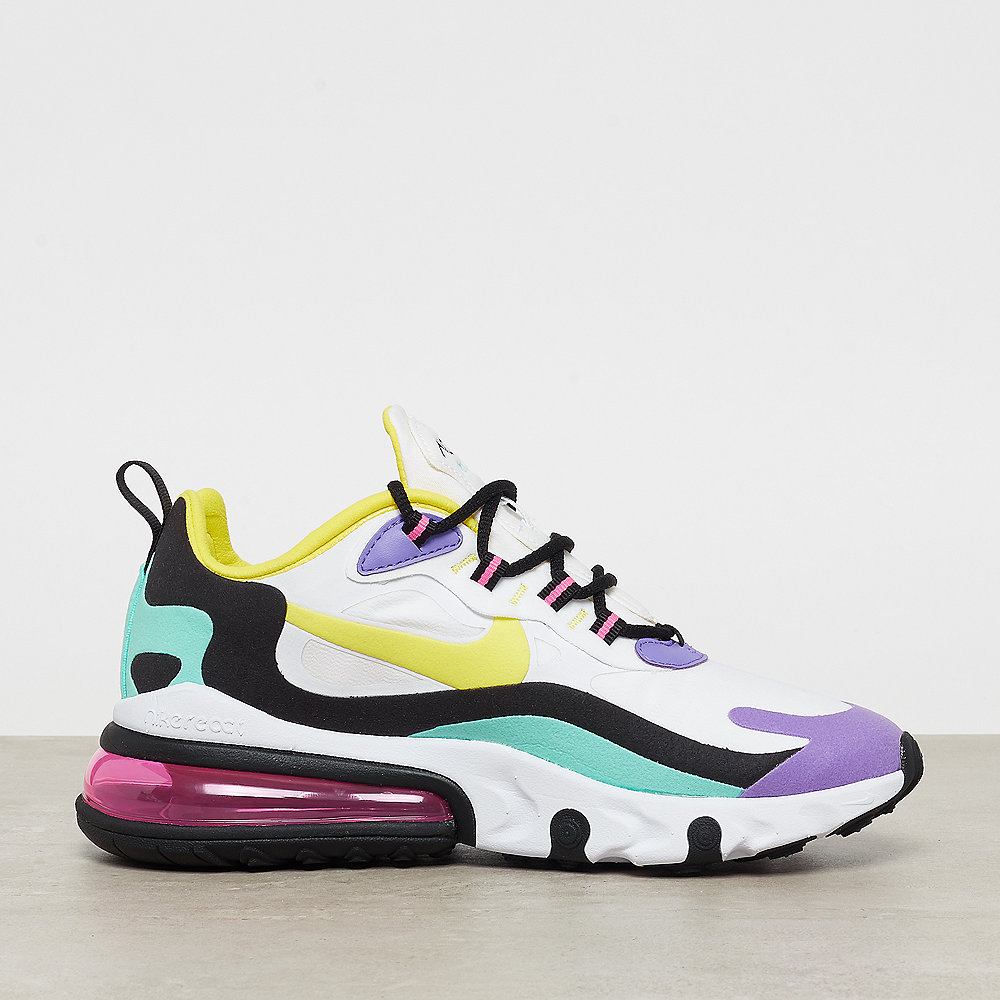 NIKE Air Max 270 white/dynamic yellow black bright violet