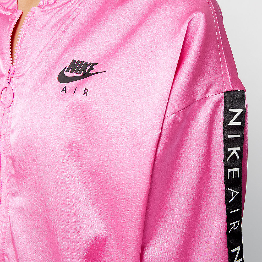 NIKE W NSW AIR TRK JKT SATIN china rose