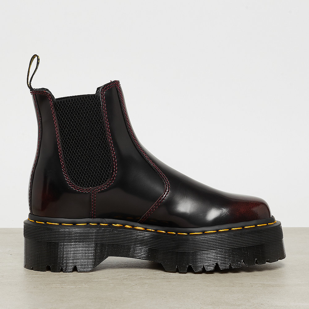 Dr. Martens 2976 Quad Bordeaux Polished Smooth