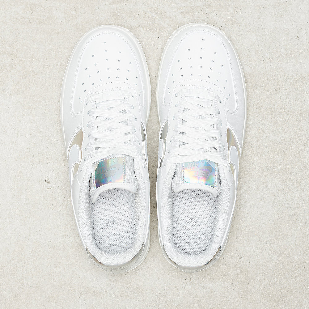 NIKE Nike Air Force 1 lo summit white/metallic silver
