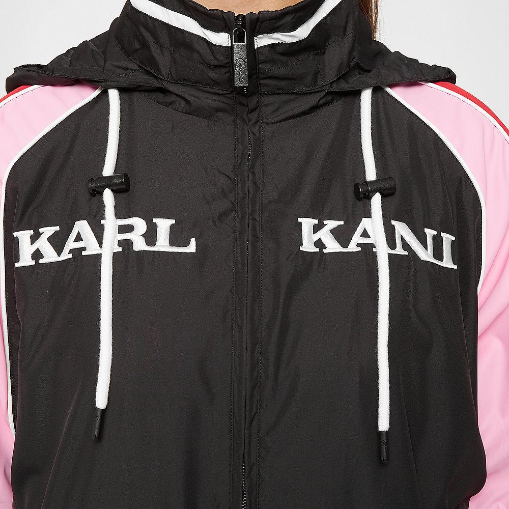 Karl Kani KK Retro Block Trackjacket black/white/red/pink
