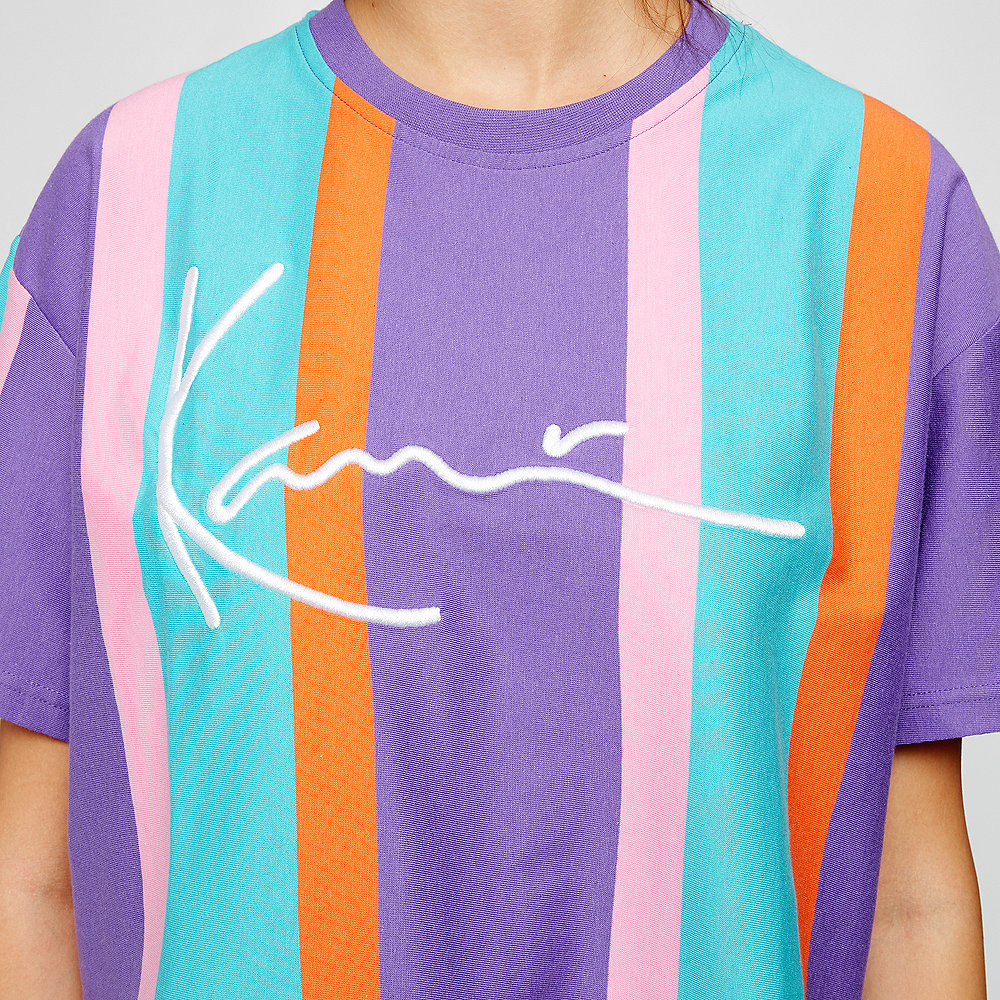 Karl Kani Signature Tee purple/pink/blue/orange