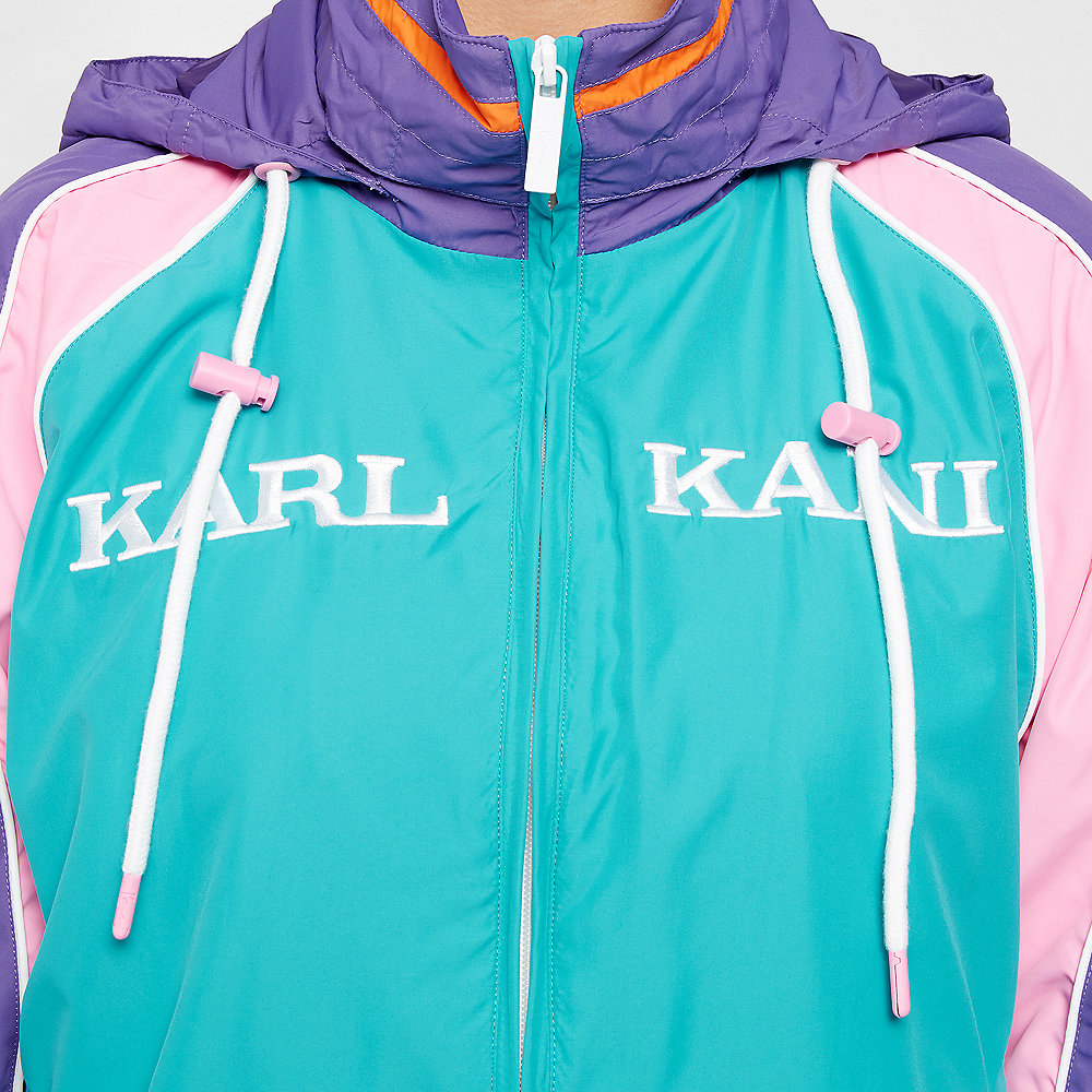 Karl Kani KK Retro Block Trackjacket blue/purple/pink/white/orange