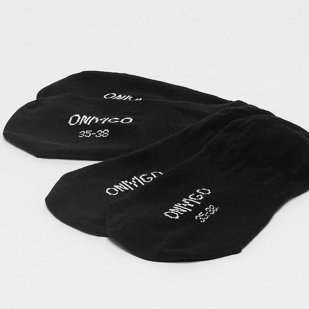 ONYGO 2-Pack no show Seamless black