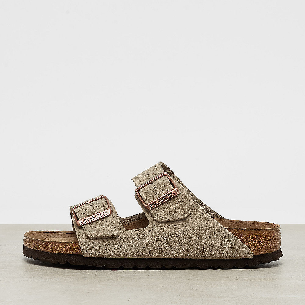 Birkenstock Arizona SFB Leather Suede taupe