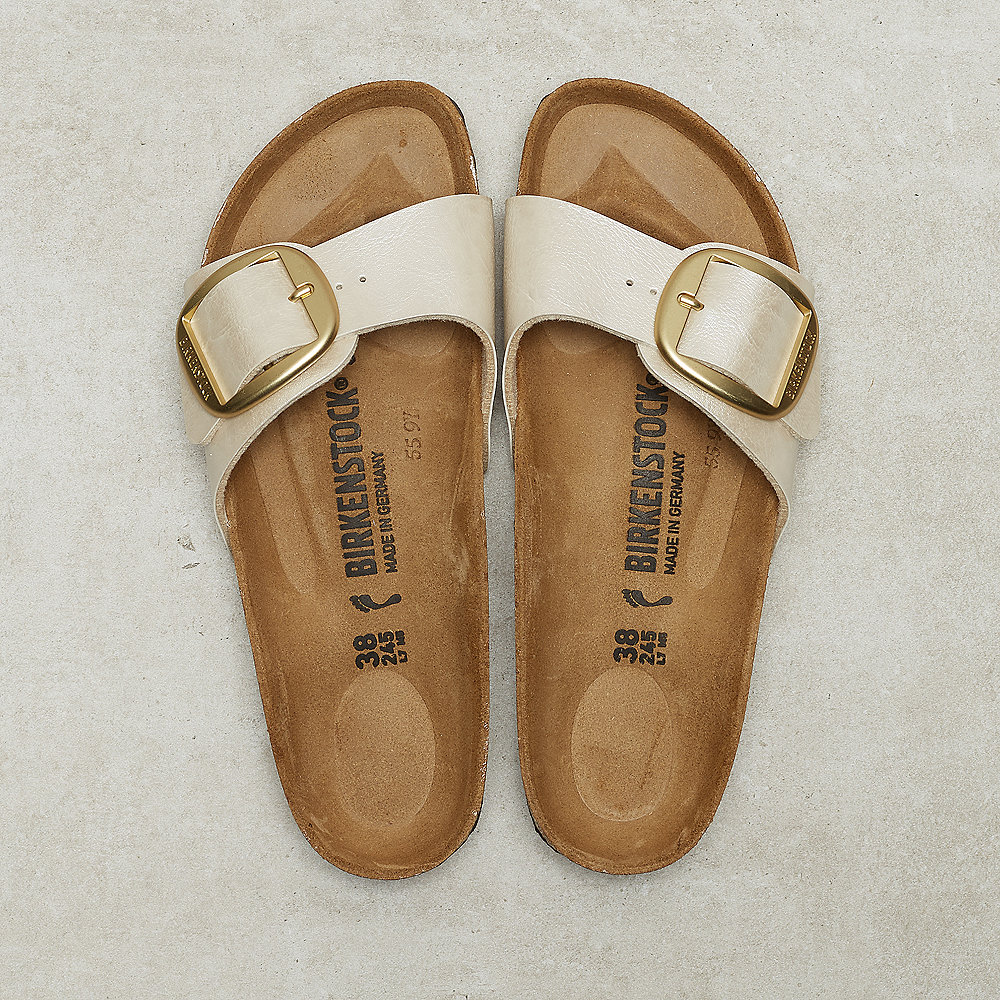 Birkenstock Madrid  graceful pearl white
