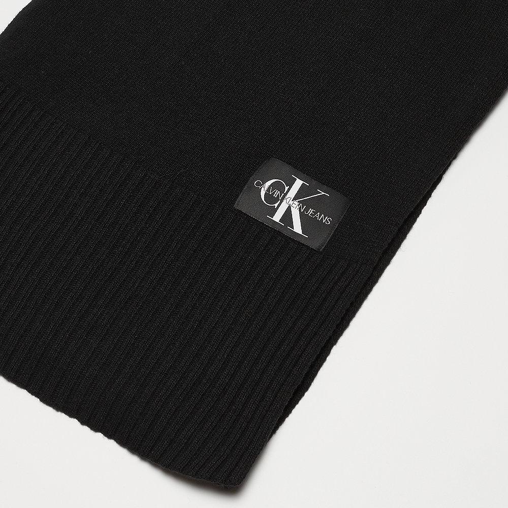 Calvin Klein Basic Knitted Scarf black beauty