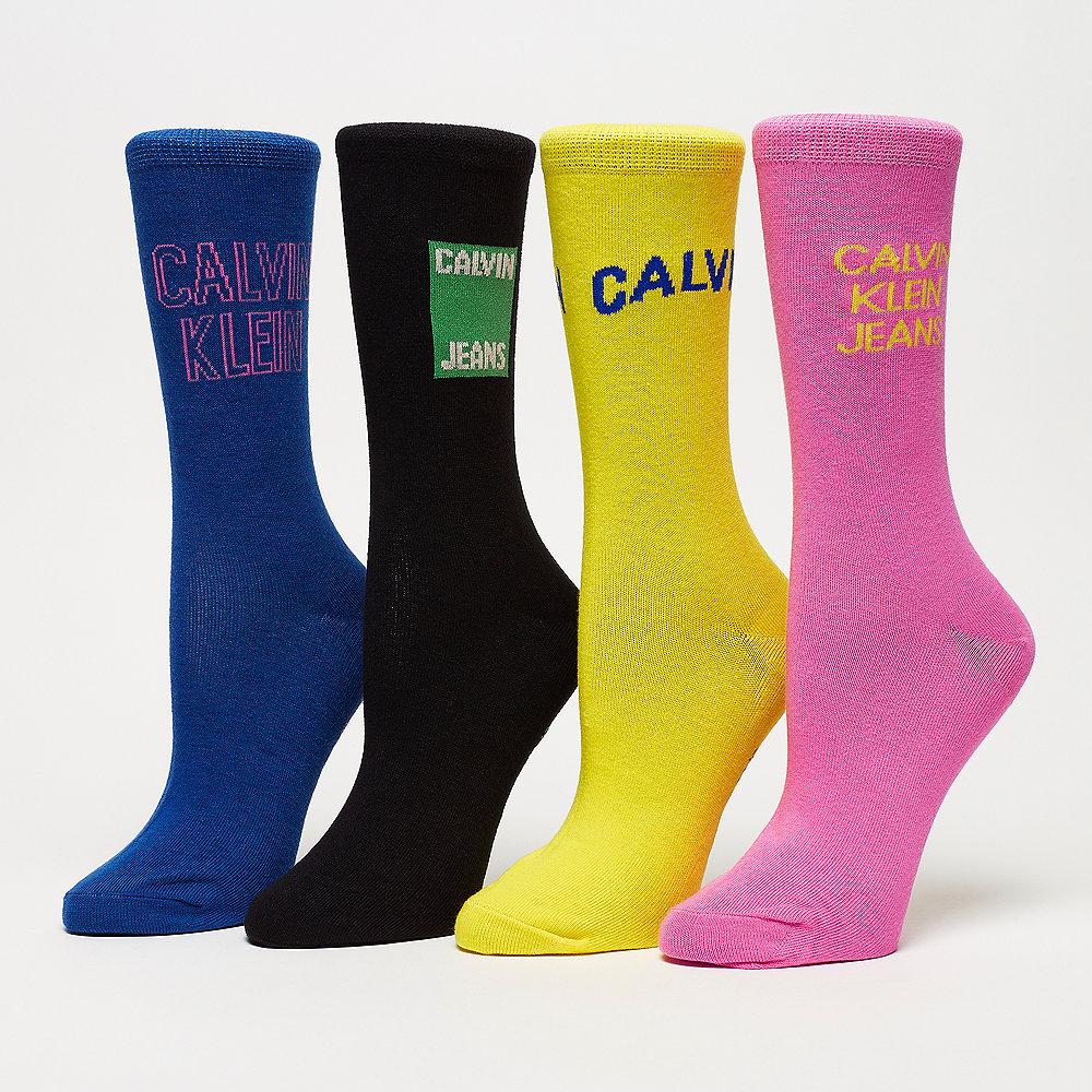 Calvin Klein 4 Pair Jeans Logo Gift multicolor
