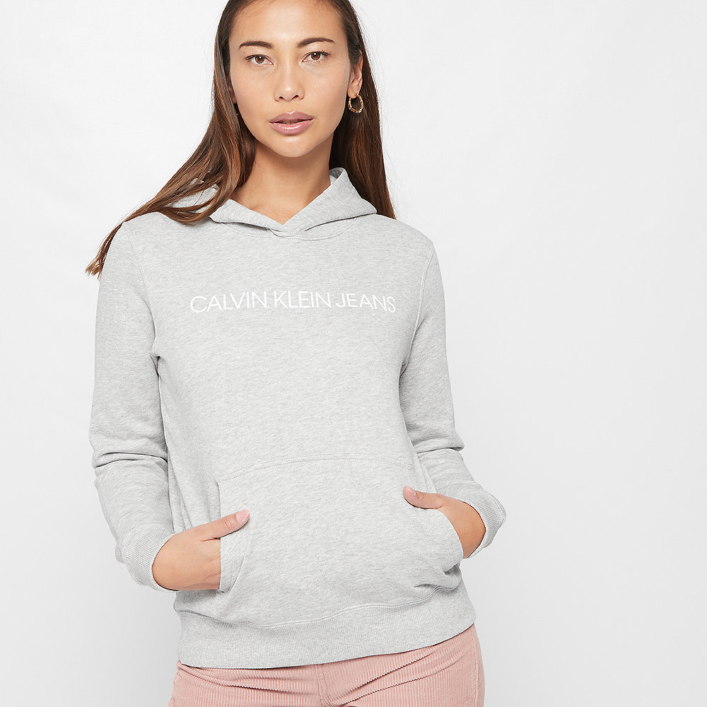 Calvin Klein Institutional Hoodie light-grey/heather