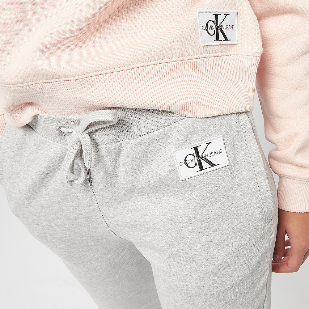 Calvin Klein Sweatpant Monogram light grey heather