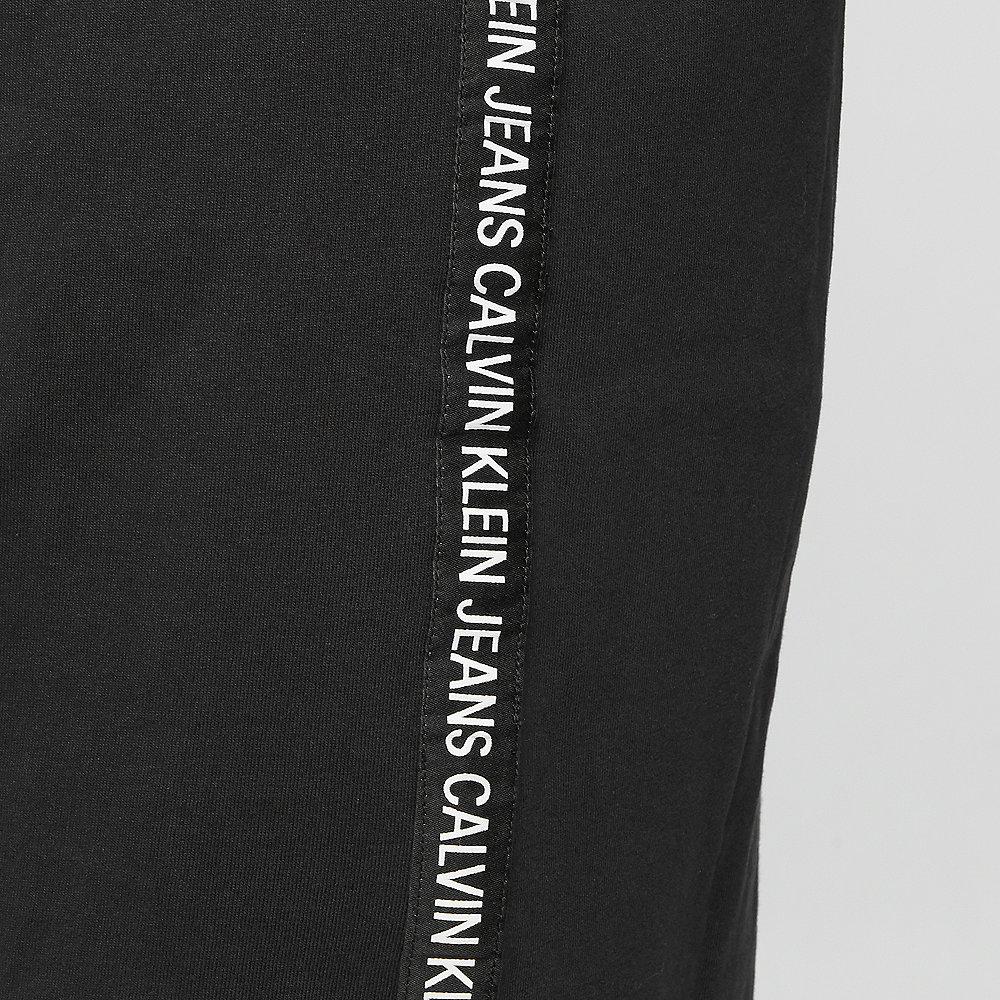 Calvin Klein Tape Logo Shirt Dress black
