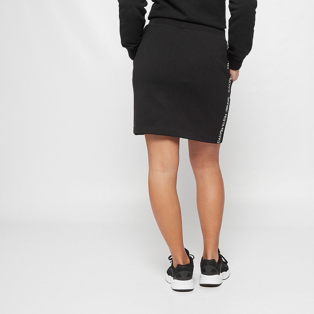 Calvin Klein Track Side Logo Skirt black
