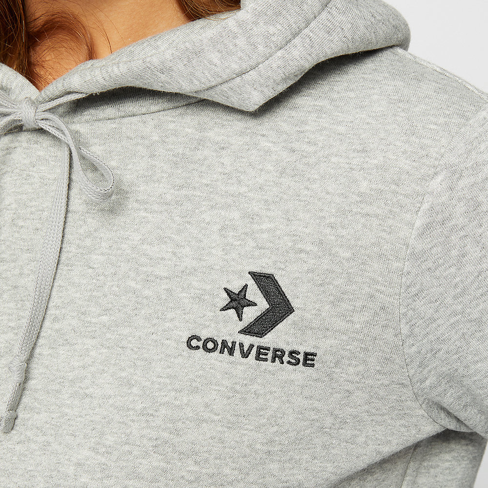 Converse Star Chevron EMB PO Hoodie vintage grey heather