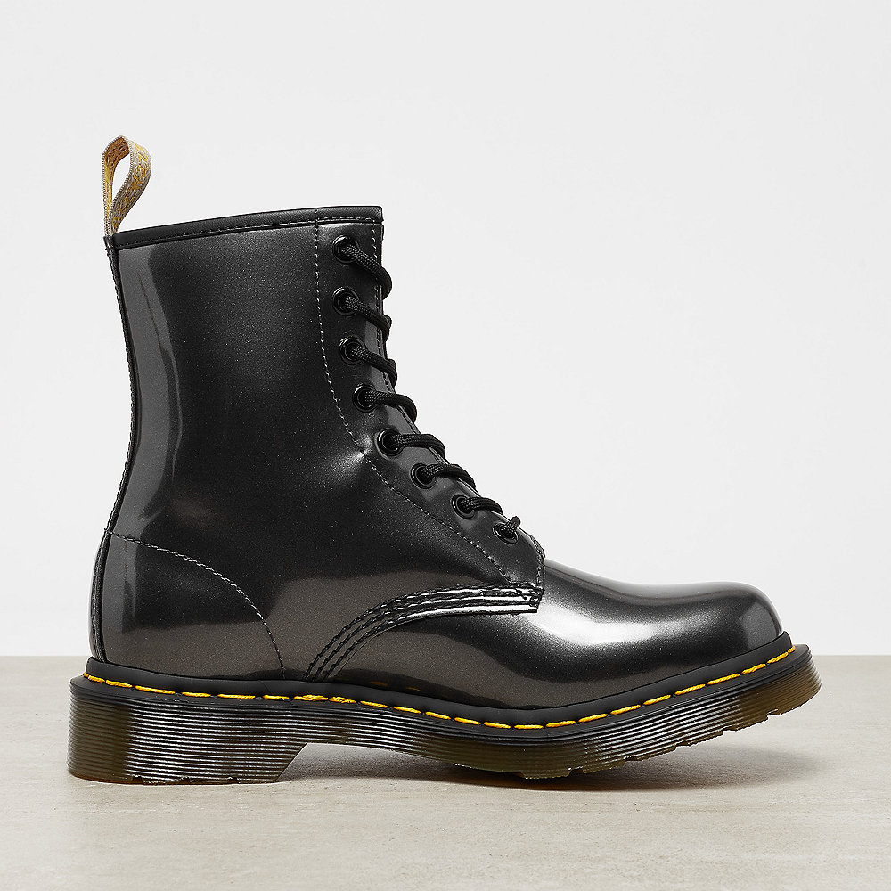 Dr. Martens 1460 Vegan  gunmetal chrome paint metallic