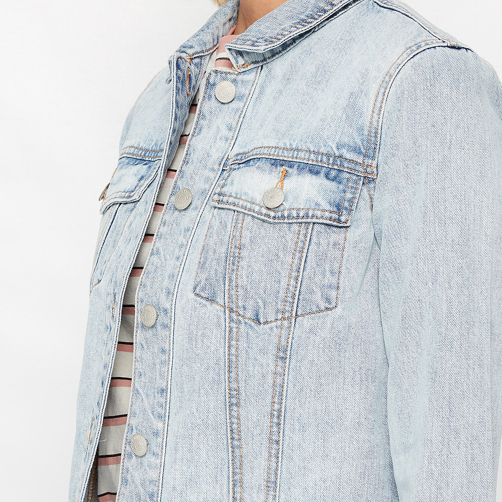 Edited Cece Denim Jacket blau
