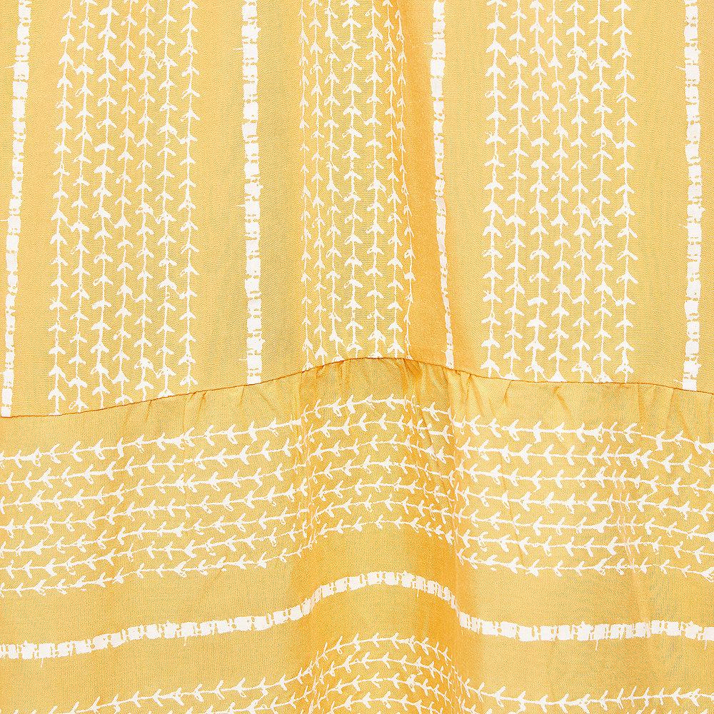Effeny Boho Sommerkleid gelb