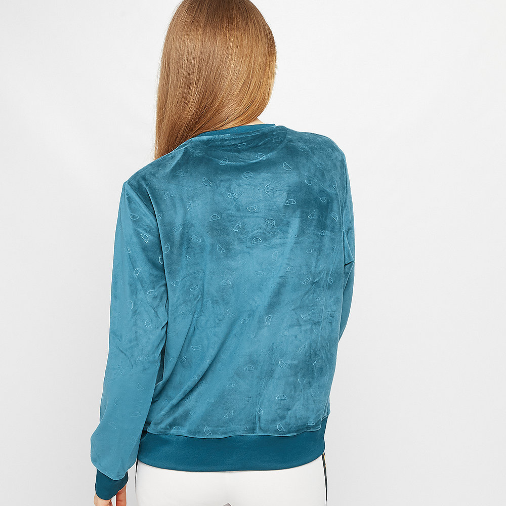 Ellesse Basilo Velour Embossed teal