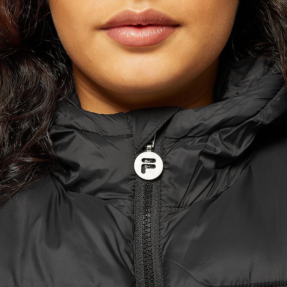 Fila ZIA Long Puff Jacket black