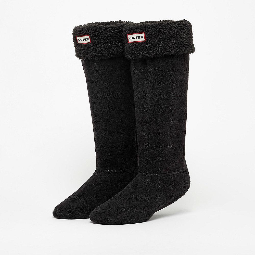 Hunter Sheepy Fleece B-Sock black