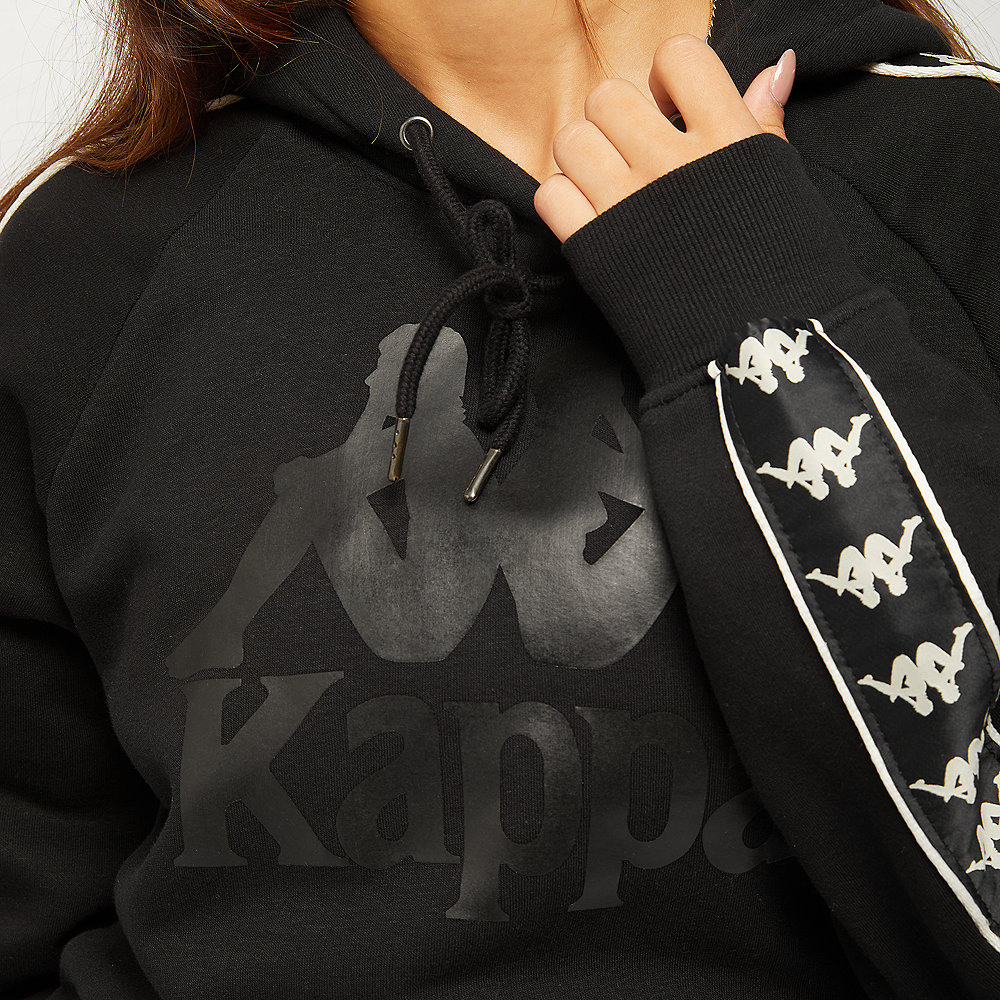 Kappa Damon Hooded Sweatshirt black