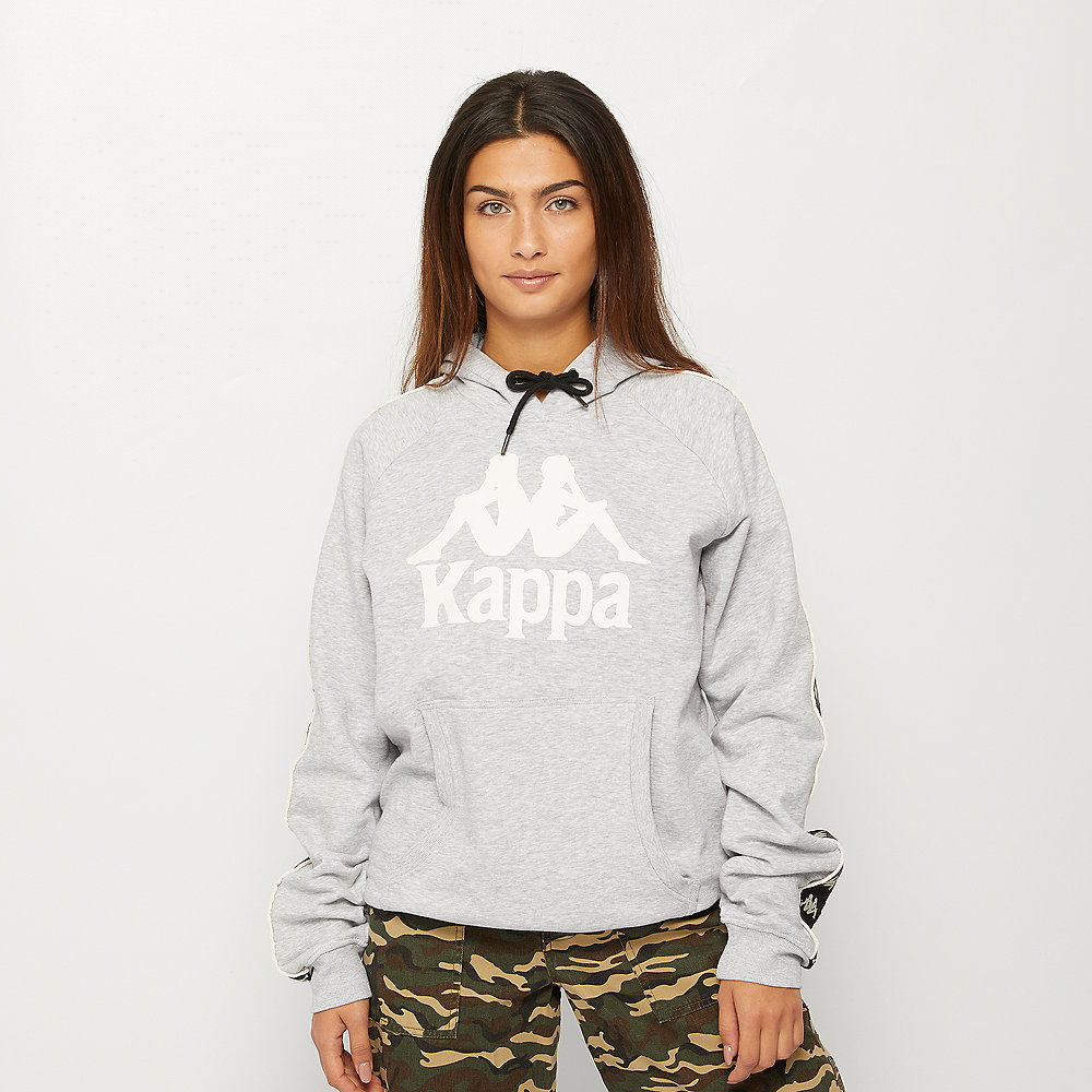 Kappa Damon Hooded Sweatshirt grey melange