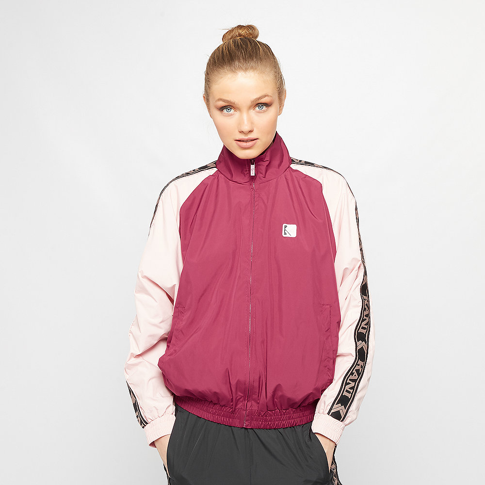 Karl Kani OG Block Trackjacket beet red/rose