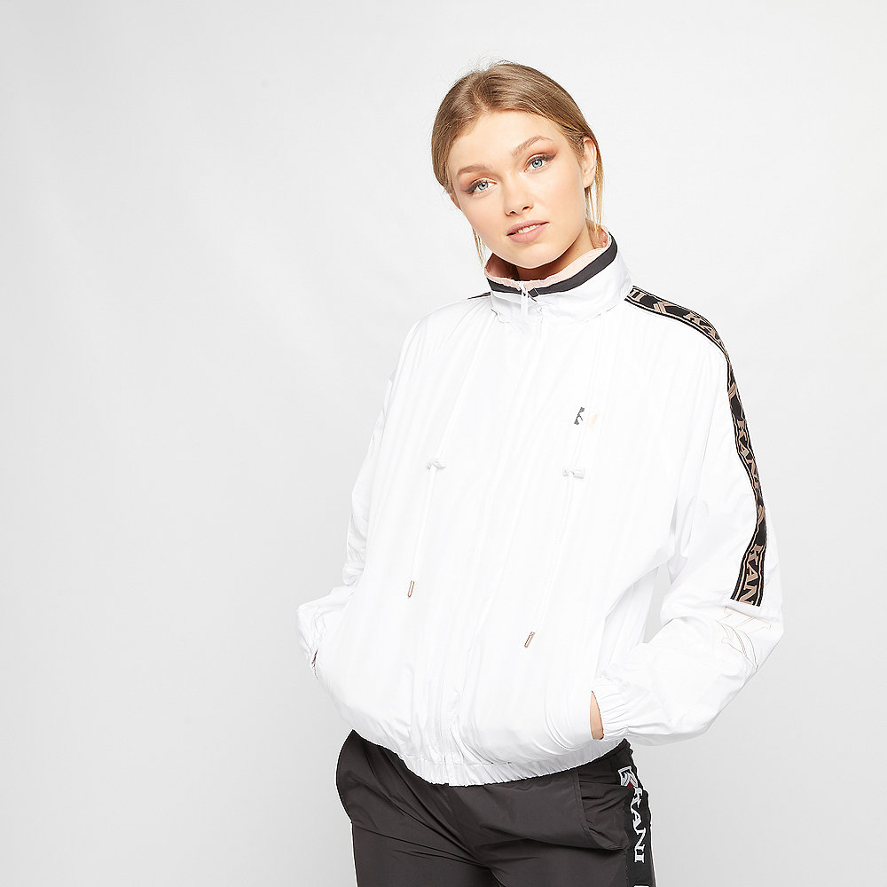 Karl Kani OG Block Trackjacket white