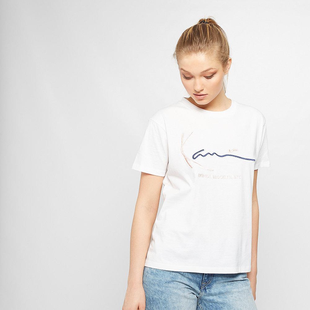 Karl Kani Signature Basic T-Shirt white
