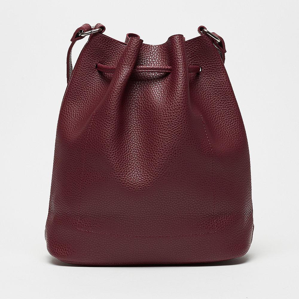 Mae & Ivy Liv Basic Bucket Bag burgundy