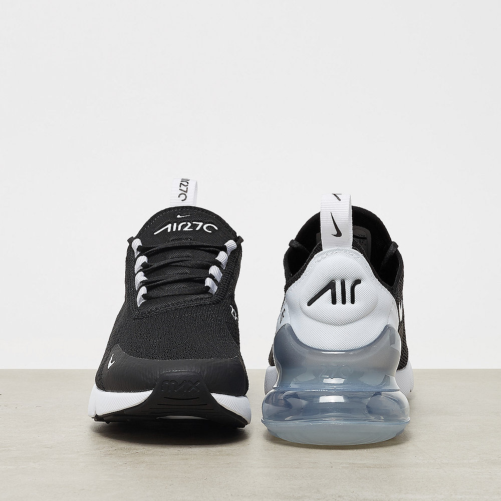 NIKE Air Max 270 black/white-pure platinum-white