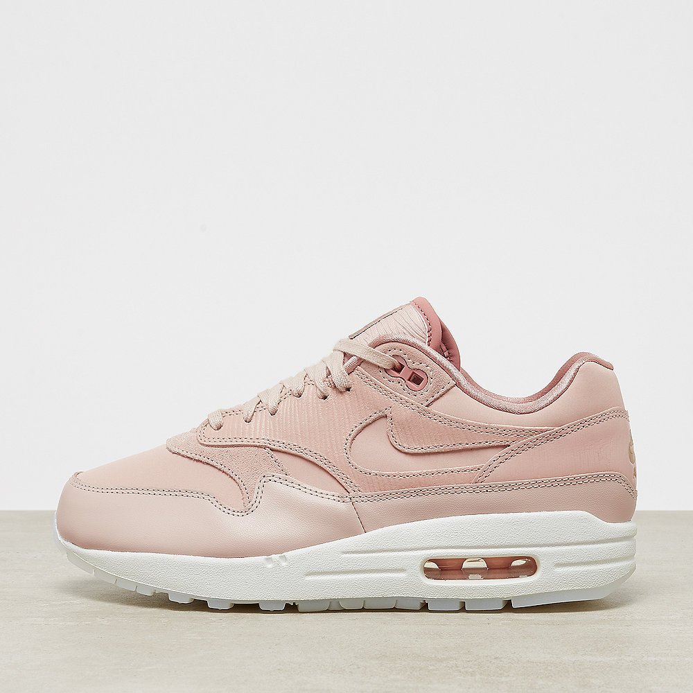 e41f84a8ff NIKE Air Max 1 particle beige/white/rush pink bei ONYGO