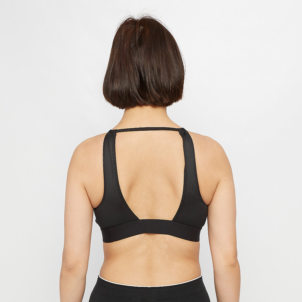 NIKE Indy Lattice Bra black/white