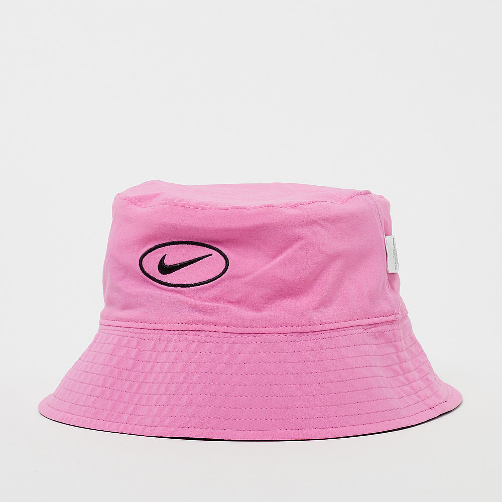 NIKE NSW Bucket Hat Swoosh china rose/white/black