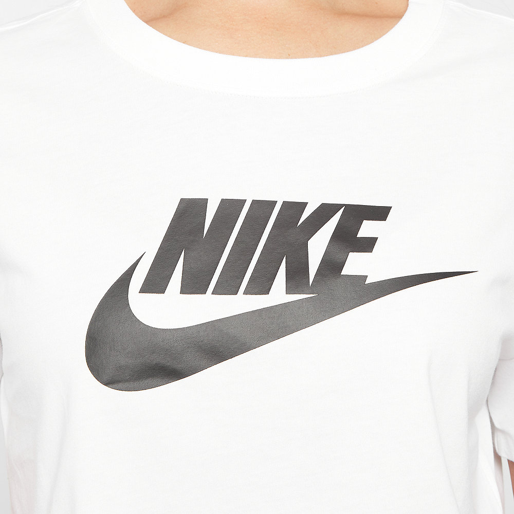 NIKE NSW Essential Crop T-Shirt white/black