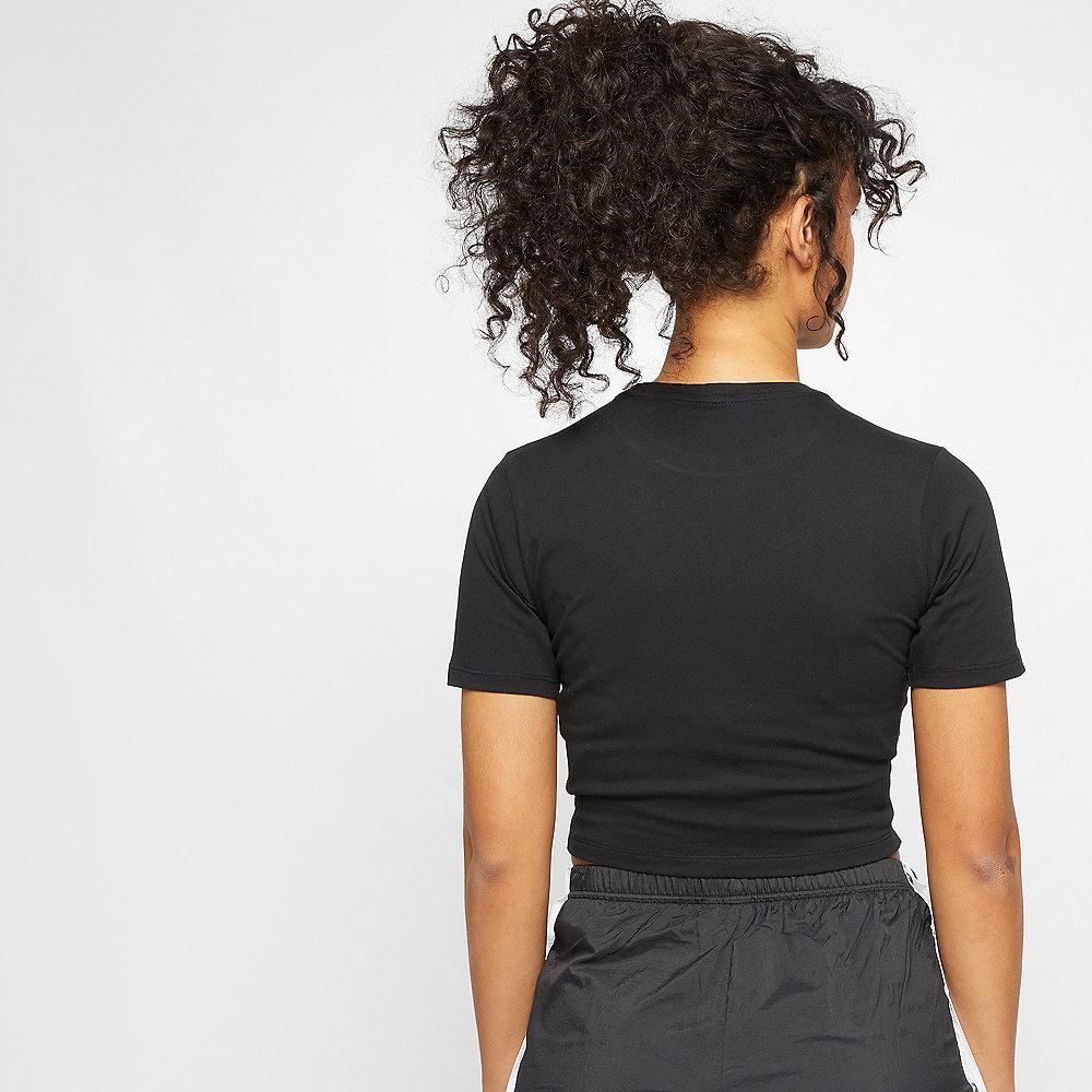NIKE NSW Essential T-Shirt Crop GX black/white