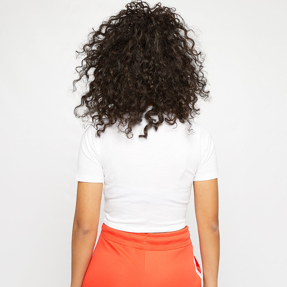 NIKE NSW Essential T-Shirt Crop GX white/black