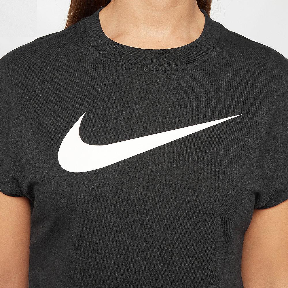 NIKE NSW Swoosh Crop Shirt black/white
