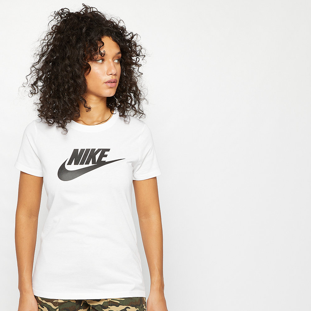 NIKE NSW Tee Essential Icon Futura white/black