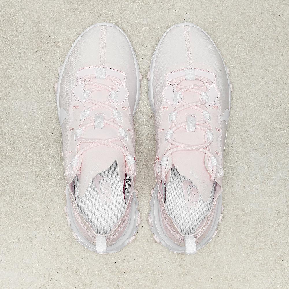 NIKE React Element 55 pale pink/white-white-pale pink