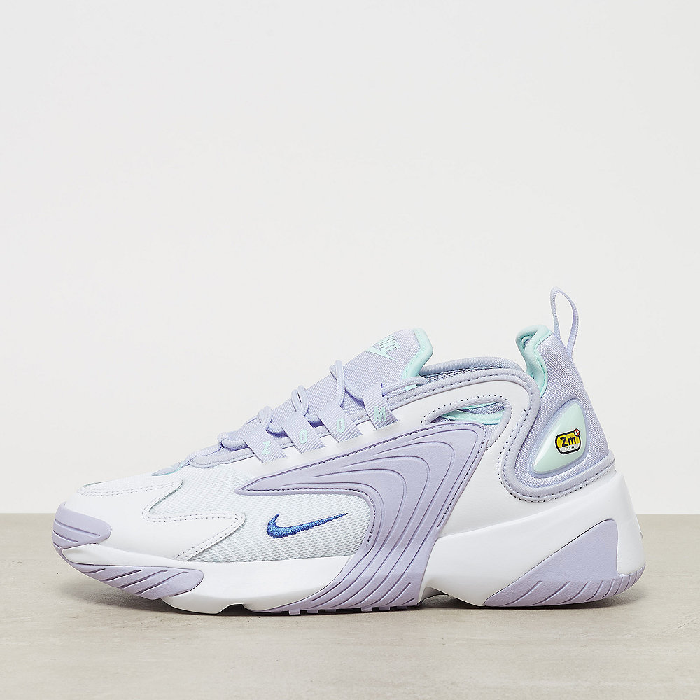 NIKE Nike Zoom 2K white/sapphire-oxygen purple-teal tint