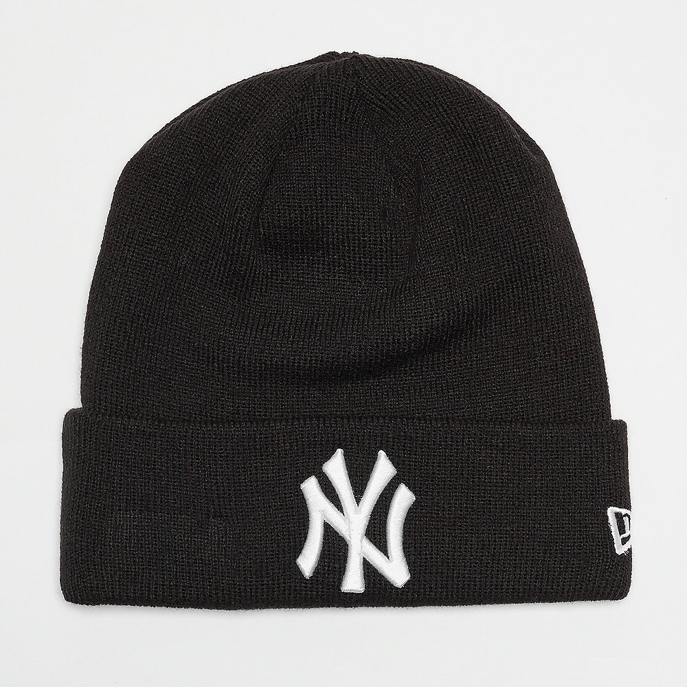 New Era Essential Cuff New York Yankees black/optic white