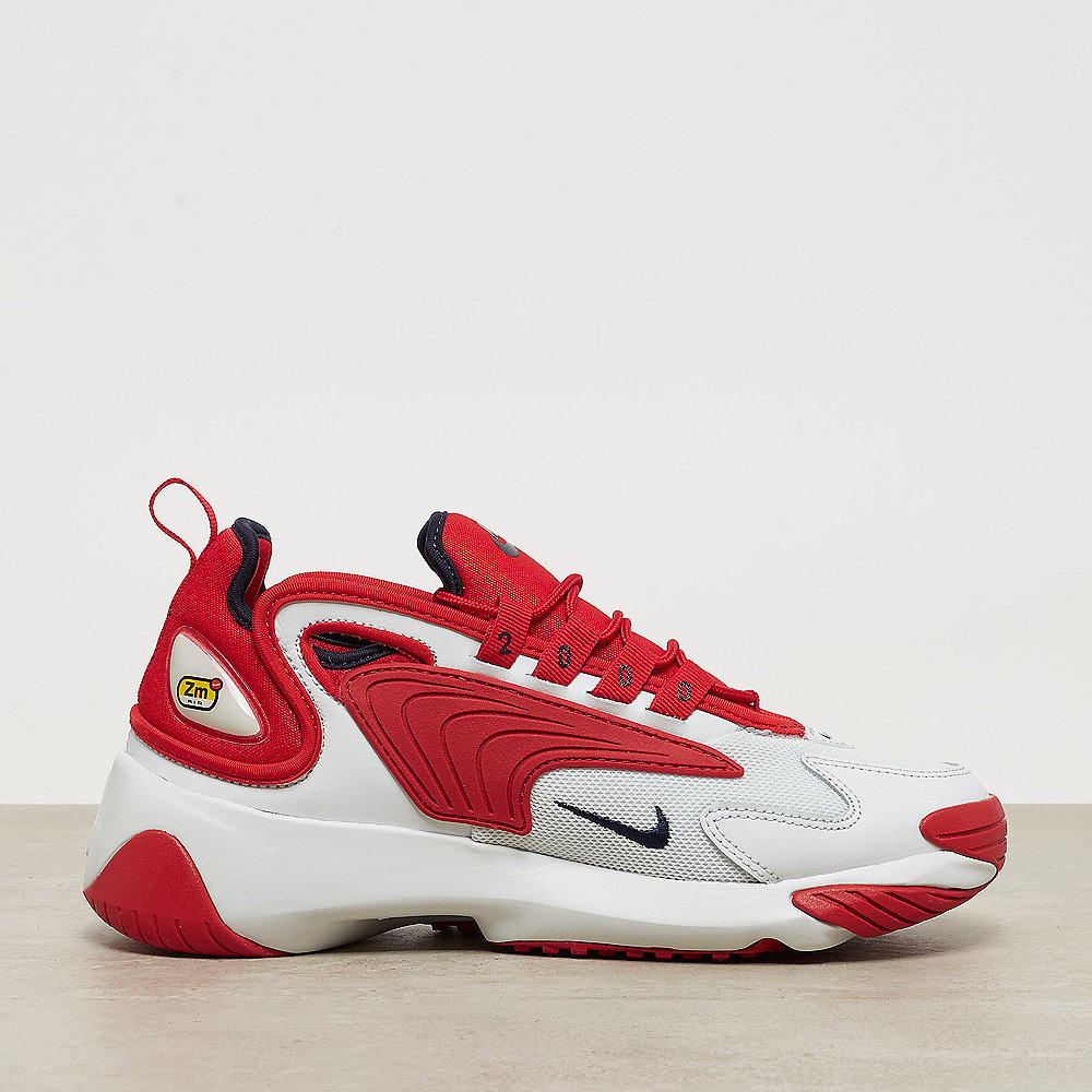 NIKE Nike Zoom 2K off white/obsidian-university red