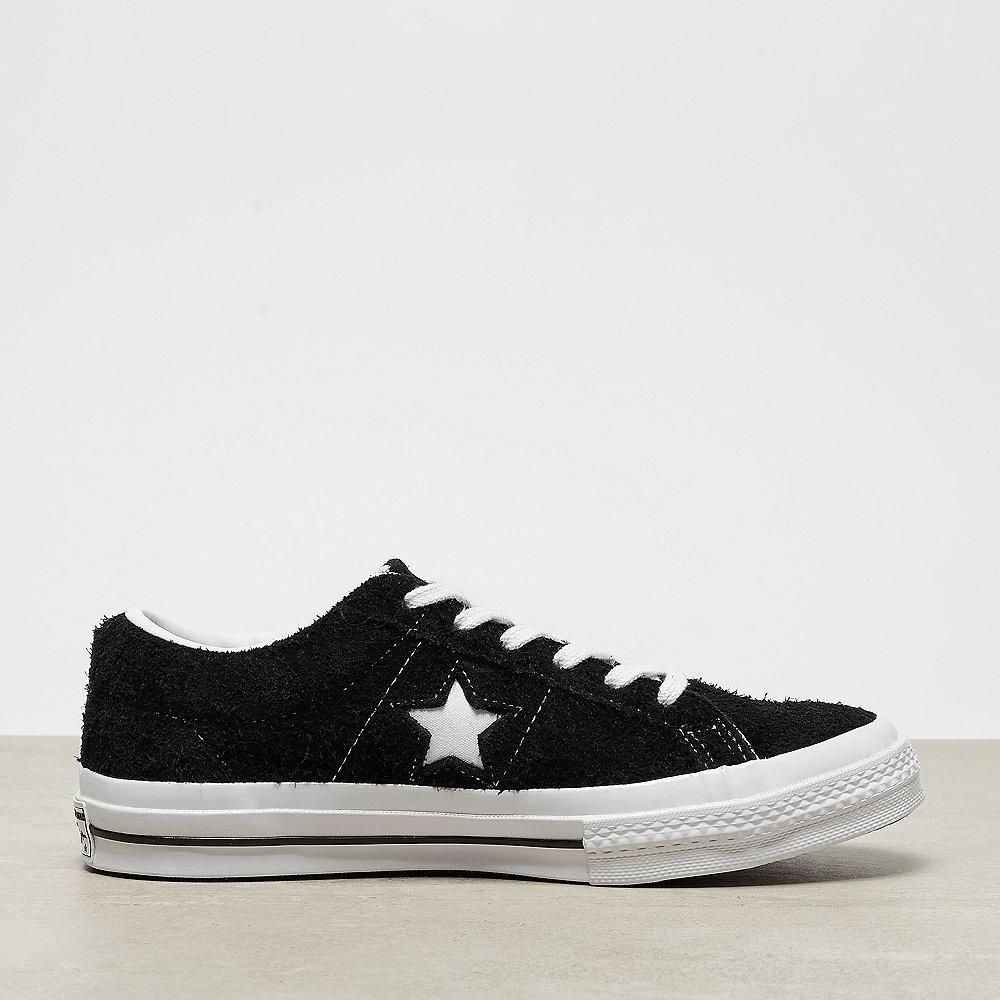 Converse One Star Ox black/white/white