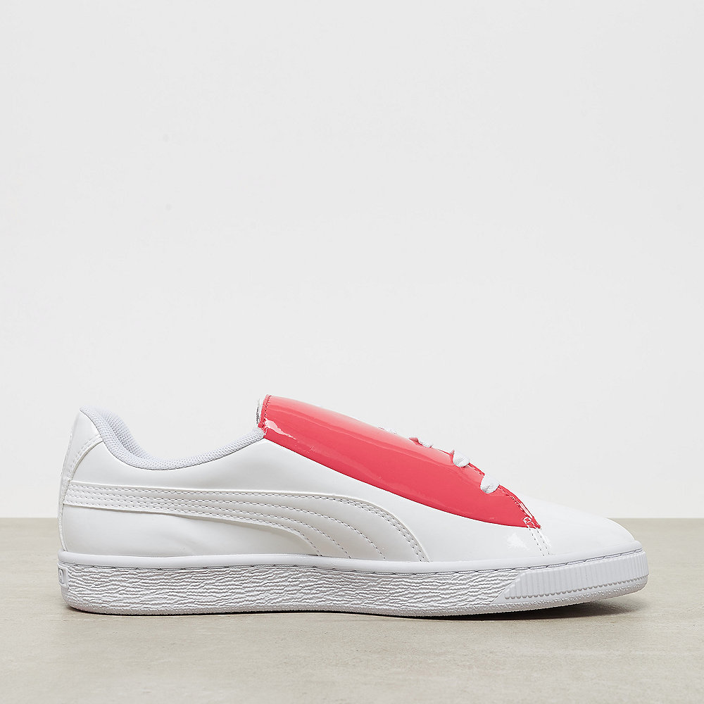 Puma Basket Crush Wn's white/hibiscus