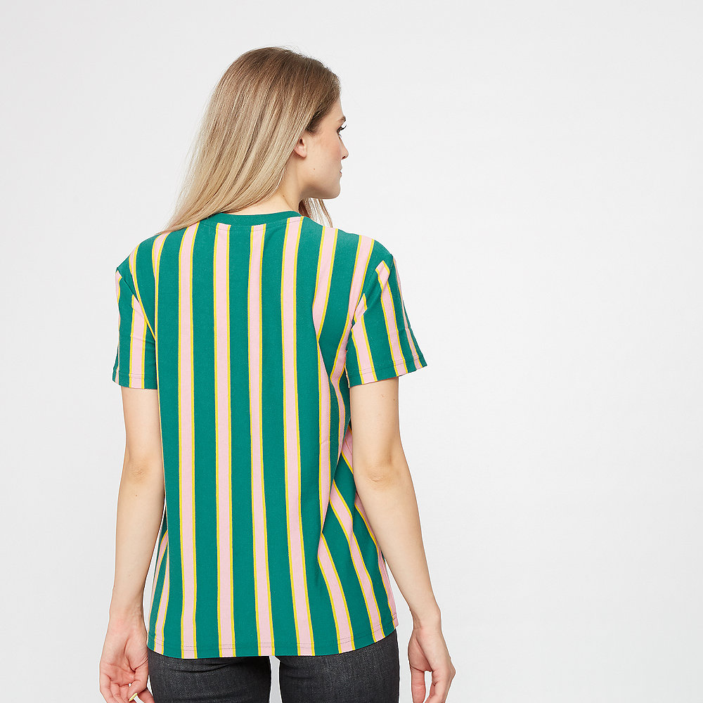 Puma Downtown Stripe Tee teal green
