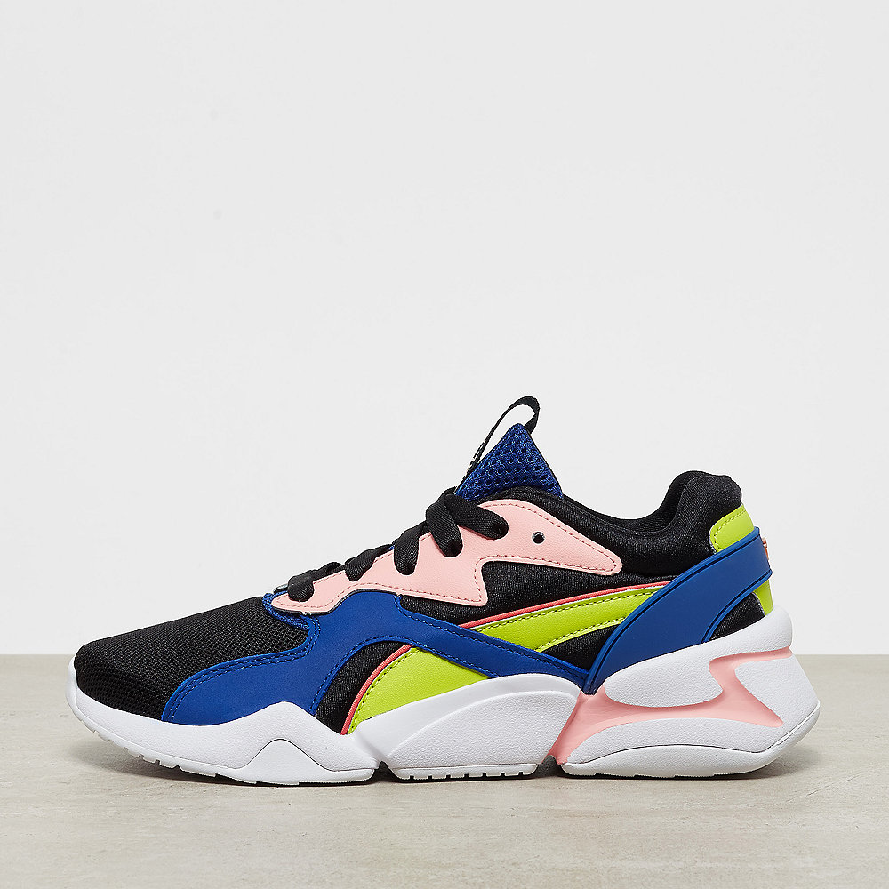 Puma Nova GRL PWR Wn's black/surf the web